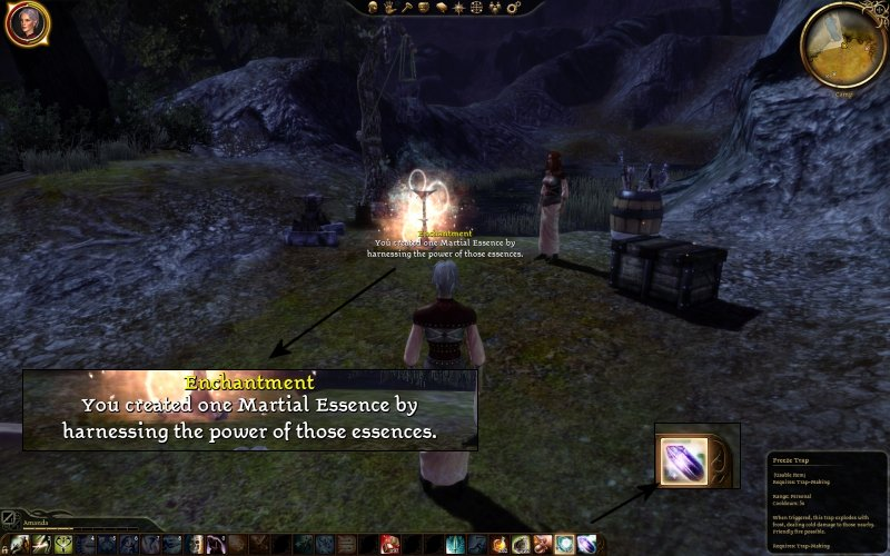 how to add skill points in dragon age origins